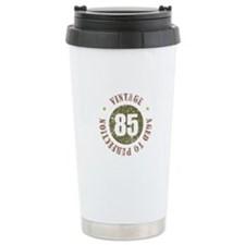 85th Vintage birthday Travel Mug