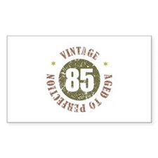 85th Vintage birthday Decal