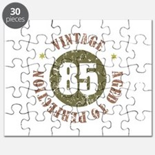 85th Vintage birthday Puzzle