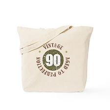 90th Vintage birthday Tote Bag
