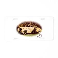 Packard Aluminum License Plate
