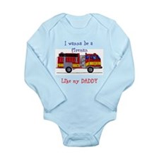 Like My Daddy Long Sleeve Infant Bodysuit