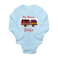 My Mommy Rocks Long Sleeve Infant Bodysuit