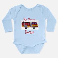 My Mommy Rocks Long Sleeve Infant Bodysuit