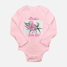 Daddy's Little Girl Long Sleeve Infant Bodysuit