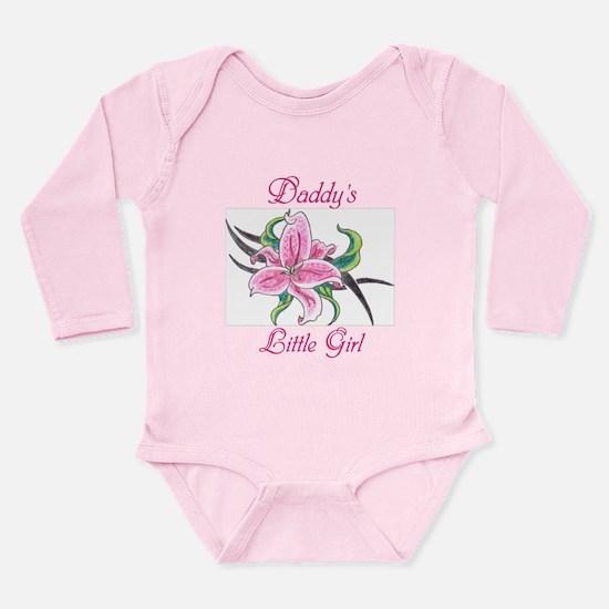 Daddy's Little Girl Long Sleeve Infant Bodysuit