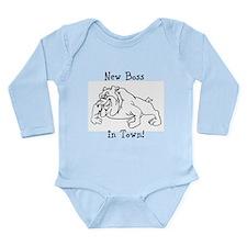 New Boss Long Sleeve Infant Bodysuit
