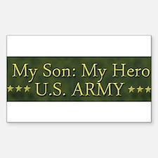 My Son: My Hero U.S. ARMY Decal