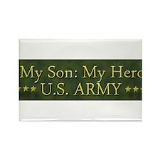 My Son: My Hero U.S. ARMY Rectangle Magnet