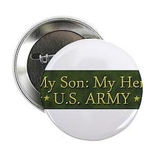"My Son: My Hero U.S. ARMY 2.25"" Button"