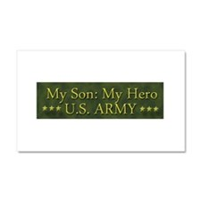 My Son: My Hero U.S. ARMY Car Magnet 20 x 12