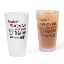 Fishing withh Your Son Pint Glass