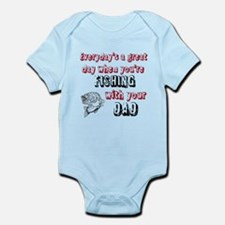 Fishing with Your Dad Infant Bodysuit
