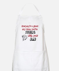 Fishing with Your Dad Apron