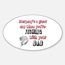 Fishing with Your Dad Decal