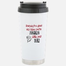 Fishing with Your Son Stainless Steel Travel Mug