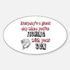 Fishing with Your Son Decal