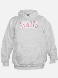"""""""Italia with Hearts"""" Hoody"""
