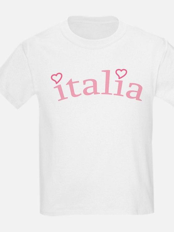 """""""Italia with Hearts"""" T-Shirt"""