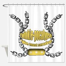 Twinkie-pocalypse 2 Shower Curtain