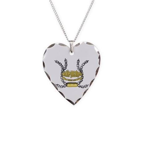 Twinkie-pocalypse 2 Necklace Heart Charm