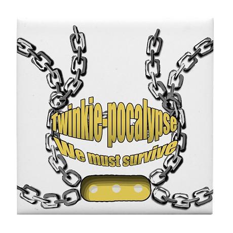 Twinkie-pocalypse 2 Tile Coaster