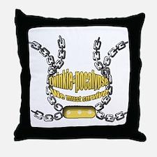 Twinkie-pocalypse 2 Throw Pillow