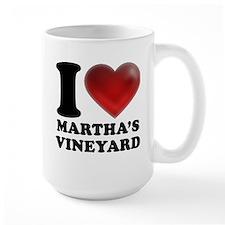 I Heart Marthas Vineyard Mug