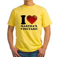 I Heart Marthas Vineyard T