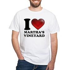 I Heart Marthas Vineyard Shirt