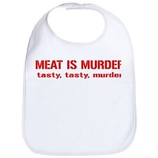 Meat Is Tasty Tasty Murder Bib