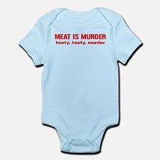 Meat Is Tasty Tasty Murder Infant Bodysuit