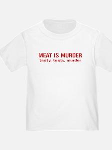 Meat Is Tasty Tasty Murder T