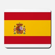 Spain - National Flag - Current Mousepad