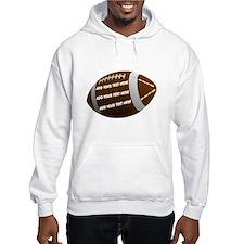 Football Hoodie Sweatshirt