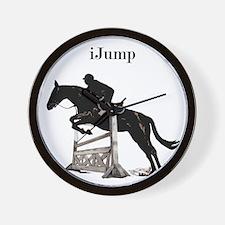 Fun iJump Equestrian Horse Wall Clock