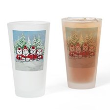 Christmas Westies II.png Drinking Glass