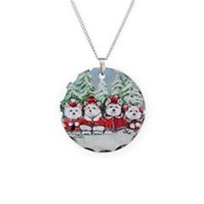 Christmas Westies II.png Necklace