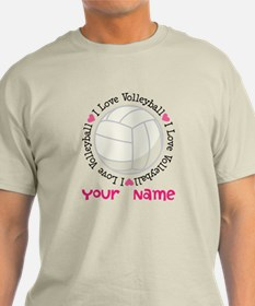 Personalized Volleyball T-Shirt