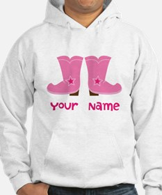 Personalized Cowgirl Hoodie