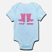 Personalized Cowgirl Infant Bodysuit