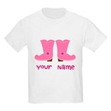Personalized Cowgirl T-Shirt