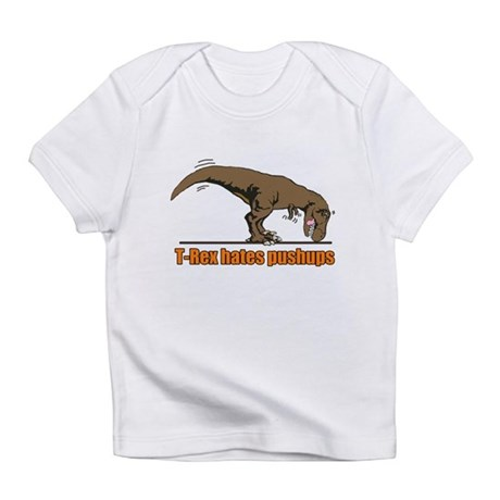 T Rex work out Infant T-Shirt