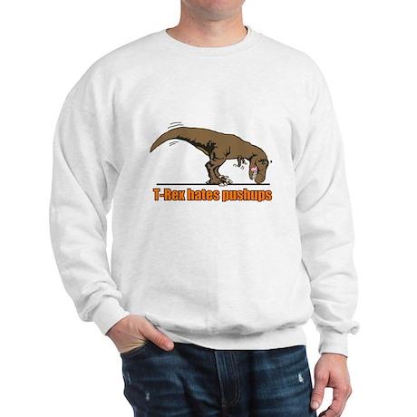 T Rex work out Sweatshirt