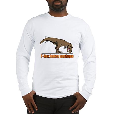 T Rex work out Long Sleeve T-Shirt