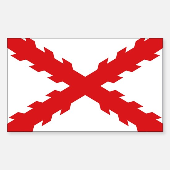 Spain - Cross of Burgundy - 1506-1701 Decal