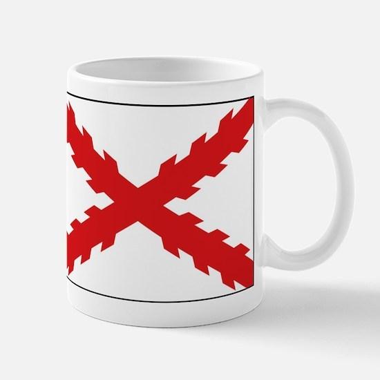 Spain - Cross of Burgundy - 1506-1701 Small Mug