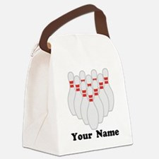 Personalized Bowling Canvas Lunch Bag