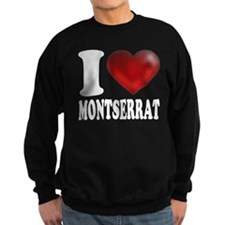 I Heart Montserrat Sweatshirt