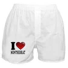 I Heart Montserrat Boxer Shorts